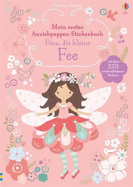 Usborne Mein erstes Anziehpuppen-Stickerbuch: Fina, die kleine Fee