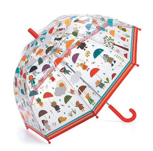 Djeco Regenschirm Tiere 70 x 68 cm