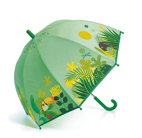 Djeco Regenschirm Dschungel 70 x 68 cm