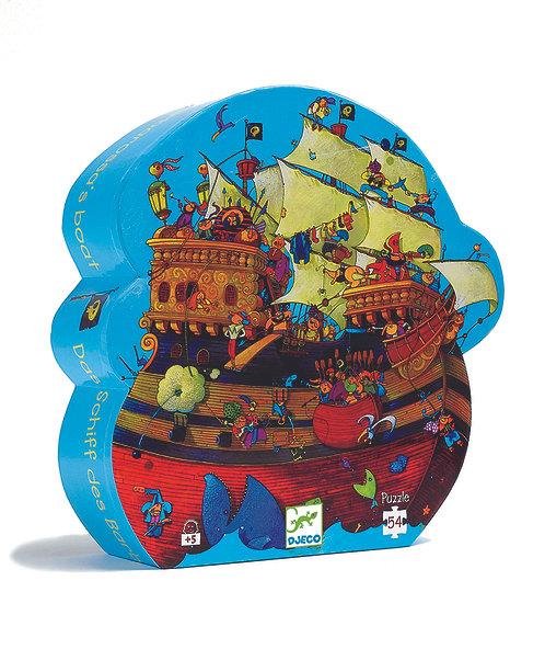 Djeco Puzzle Barbarossas Schiff 54 Teile