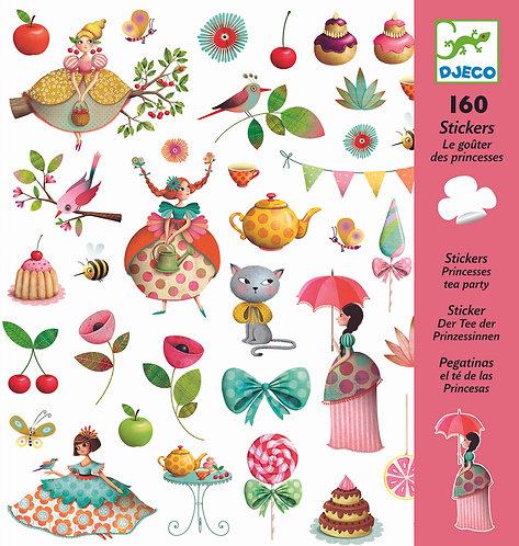 Djeco Sticker Prinzessinnen Teeparty