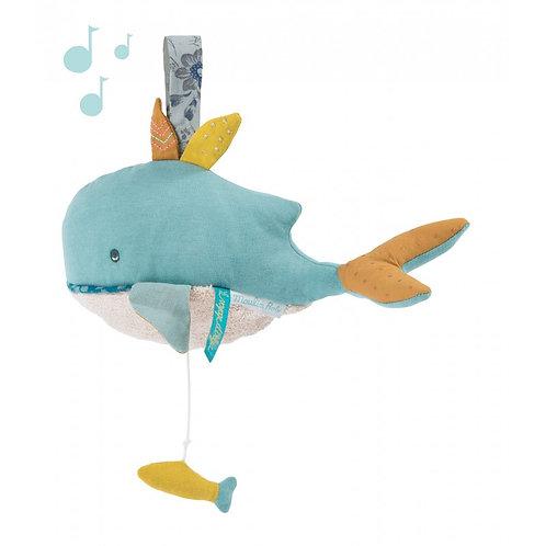 MOULIN ROTY Spieluhr Wal Fisch