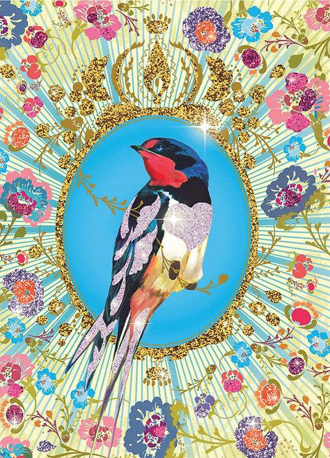 Djeco Flitterbilder Vögel