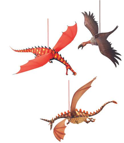 Djeco Leichte Mobiles Fliegende Drachen