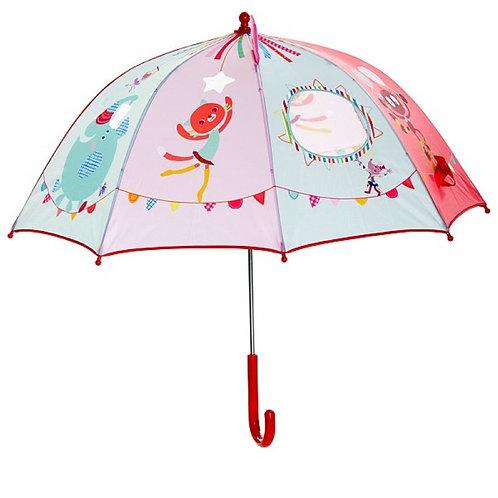 Lilliputiens Regenschirm Zirkus