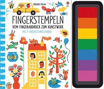 Usborne Fingerstempeln: Vom Fingerabdruck zum Kunstwerk