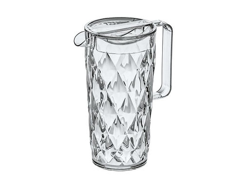 Koziol Wasserkrug CRYSTAL 1.6 l Transparent
