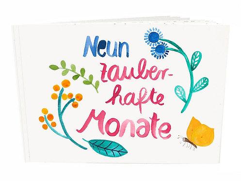 Frau Ottilie Schwangerschaftsbuch *Neun Monate*