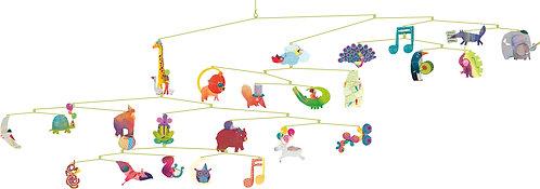 Djeco Mobiles Karneval der Tiere