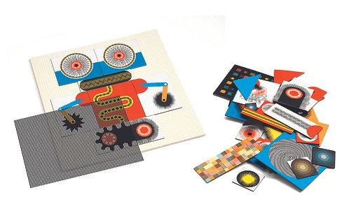 Djeco Kinoptik Roboter 58 Teile