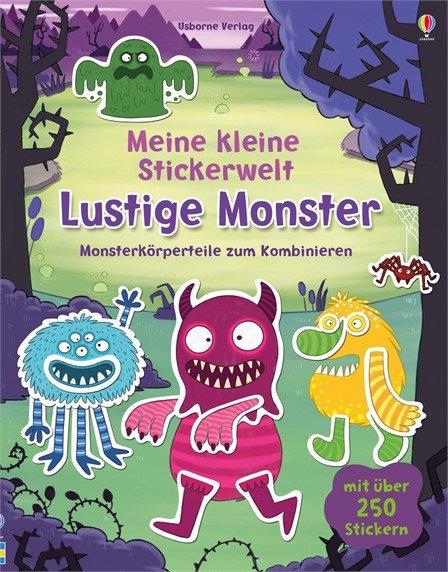 Usborne Meine kleine Stickerwelt: Lustige Monster