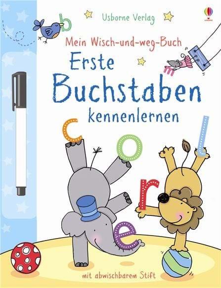 Usborne Mein Wisch-und-weg-Buch: Erste Buchstaben