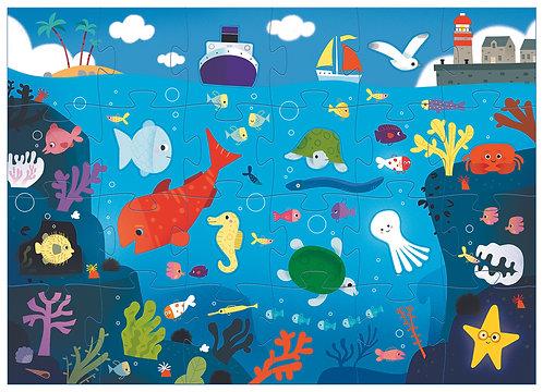 Djeco Puzzle Unter dem Meer 24 Teile