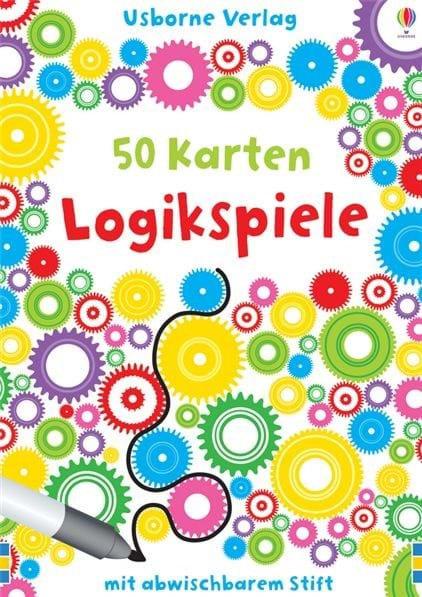 Usborne 50 Karten: Logikspiele