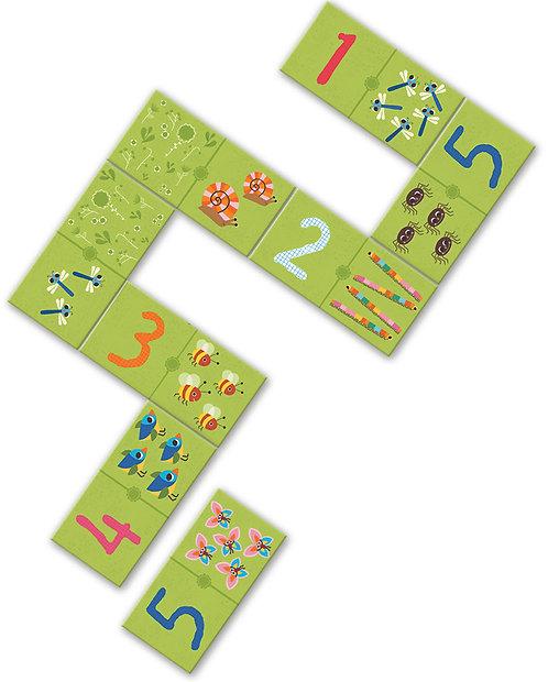 Djeco Lernspiel Domino 123