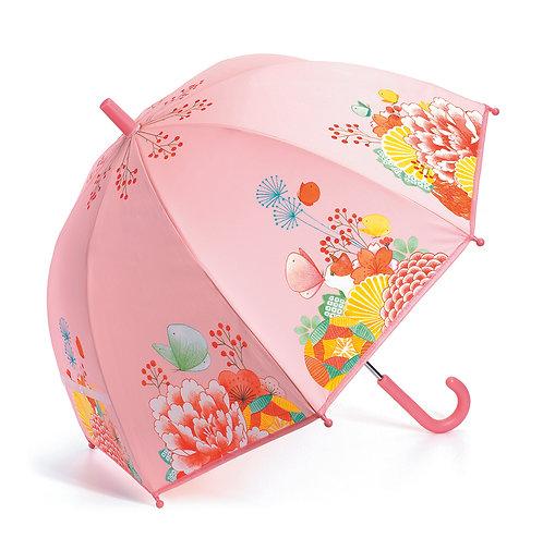 Djeco Regenschirm Blumengarten 70 x 68 cm