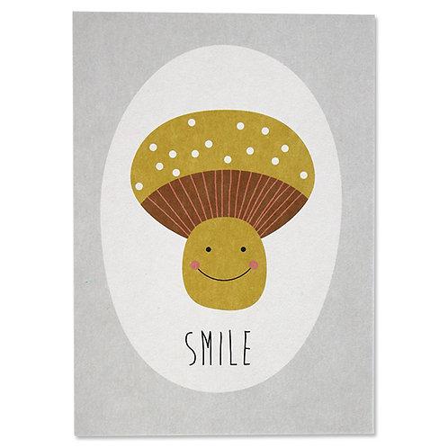 ava&yves Karton-Postkarte �smile�