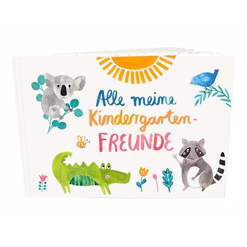 Frau Ottilie Freundebuch *Kindergarten* Edition *Wilde Tiere*