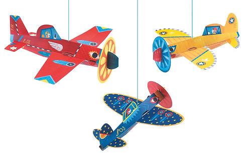 Djeco Leichte Mobiles Flugzeug