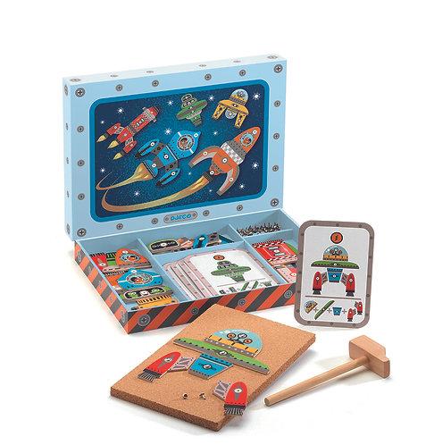 Djeco Tap Tap Raumfahrt