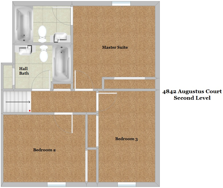 Floor Plan - Second Level