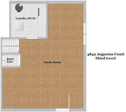 Floor Plan - Third Level