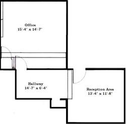Olentangy River Rd floorplan Suite#201B.