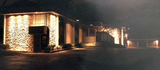 Front Exterior at Night