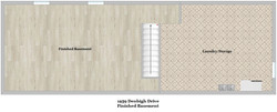 Floor Plan - Finished Basement