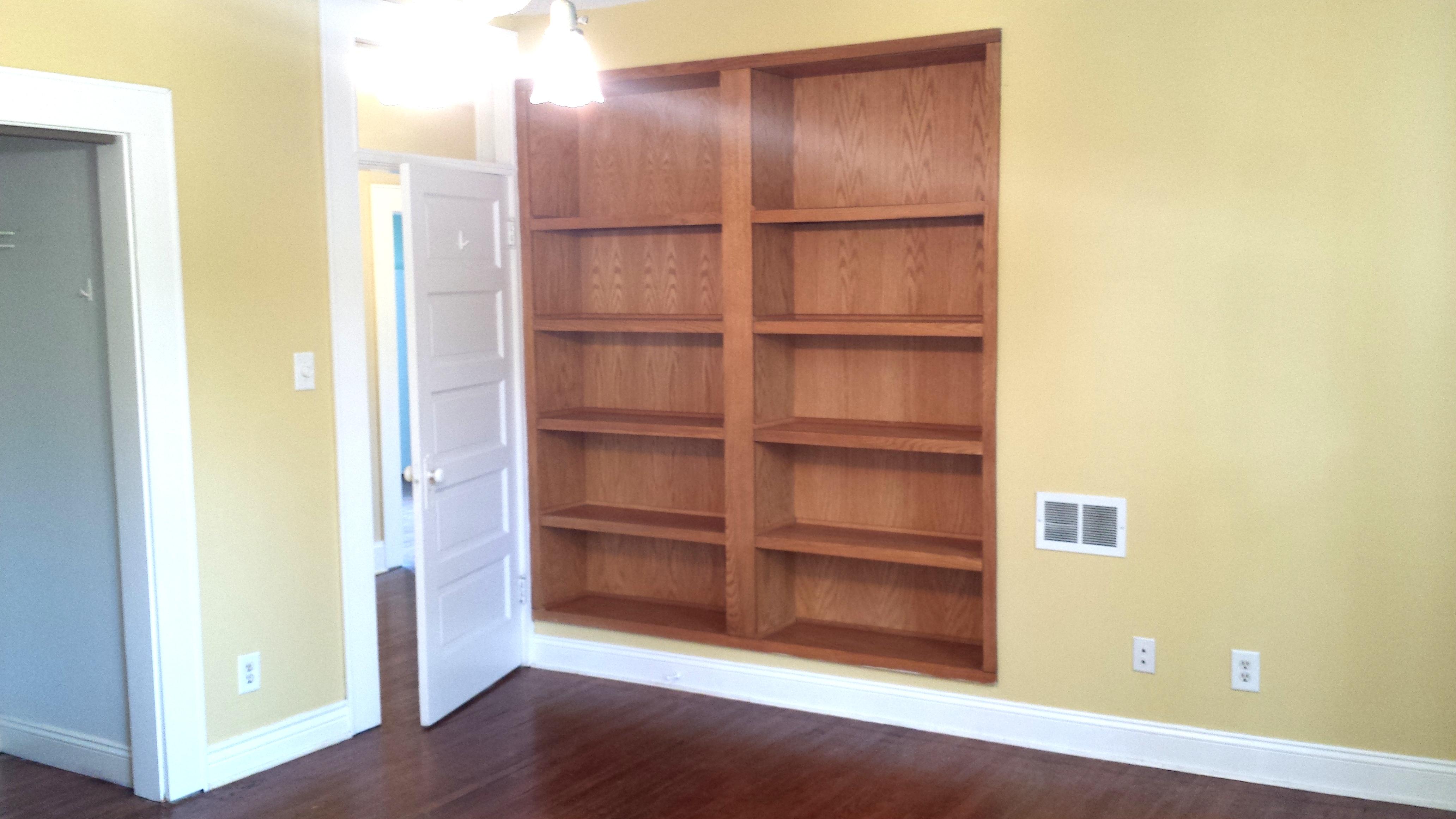 Bedroom 2 Bookshelves