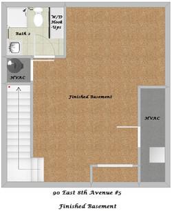 Floor Plan - Finished Basement
