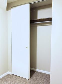 Basement Office Closet