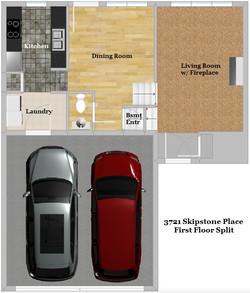 Floor Plan - First Floor Split