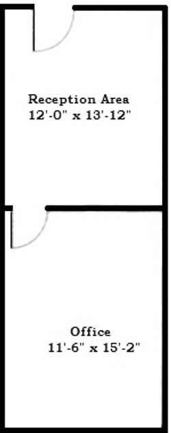 Suite 203 Floor Plan