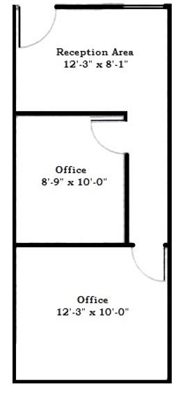 Suite 100 Floor Plan