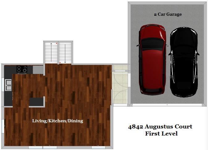 Floor Plan - First Level