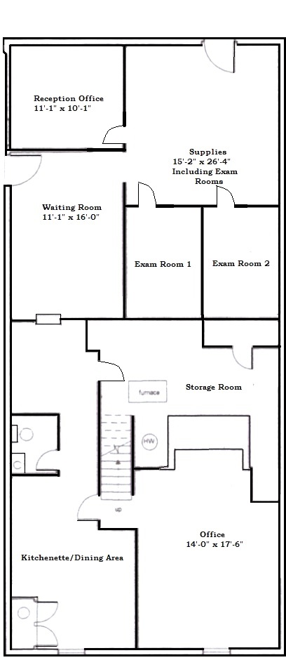 Suite 1 Floor Plan