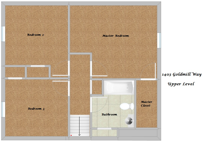 Floor Plan - Upper Level