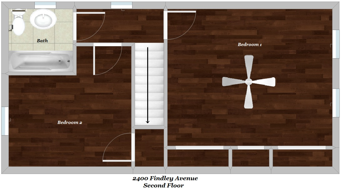 Floor Plan - Second Floor