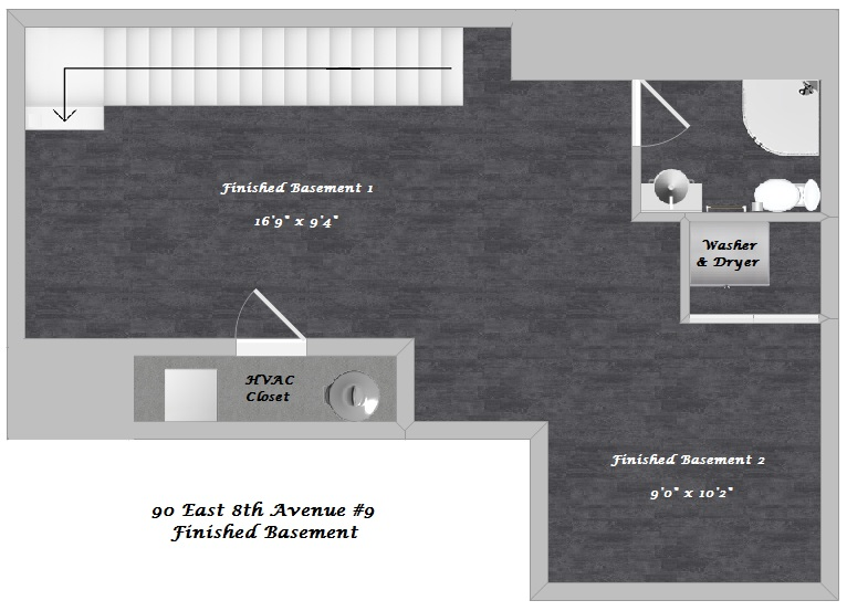 Floor Plan Finished Basement