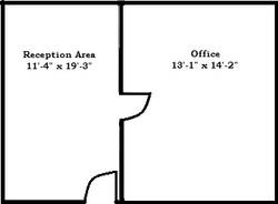 Suite 200C Floor Plan