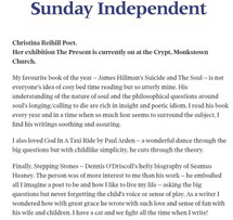 Sunday Indpependent, The Present, 13 12
