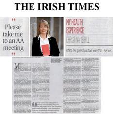 Irish Times, Joanne Hunt, CR My Health E