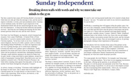 Sunday Independent, Emily Hourican, Wall