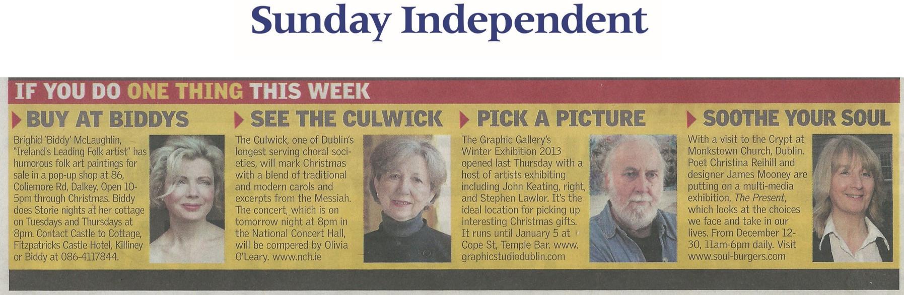 Sunday Independent, Madeleine Keane, The