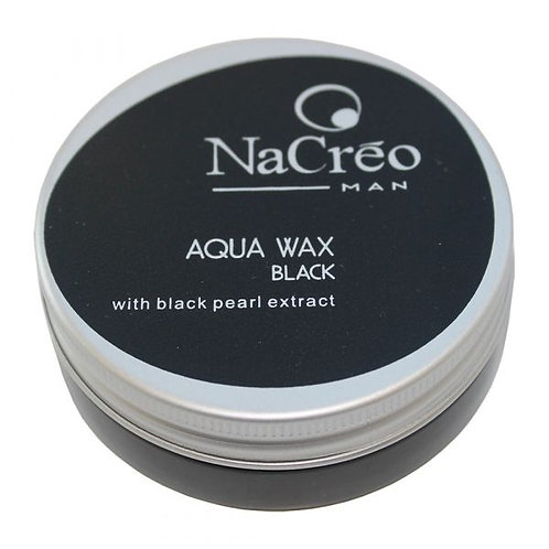 NaCreo Man Aqua Wax - Black 50ml