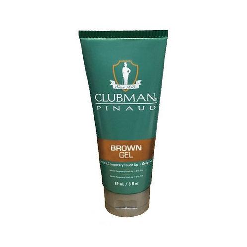 Clubman Pinaud Temporary Colour Gel Brown - 89ml