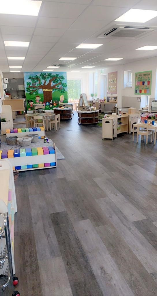 Our New Pre-School Room!