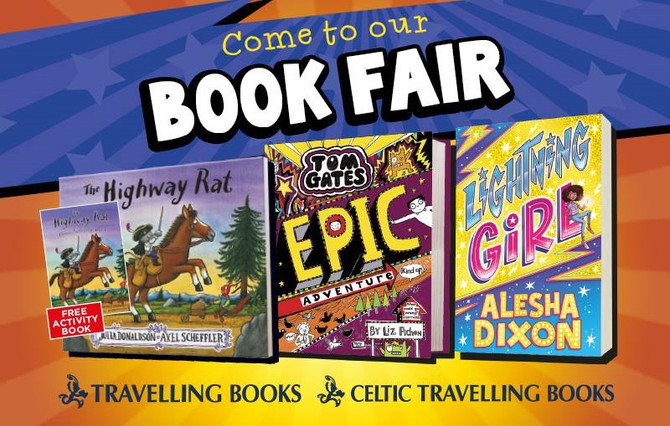 The Book Fair is Coming Back!