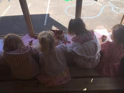 Ducks outdoor classroom